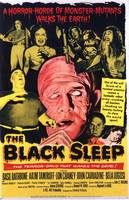 HALLOWEEN CULT HORROR MOVIE POSTER THE BLACK SLEEP