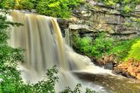 Blackwater Falls, West Virginia.