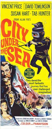 Classic Sci-Fi Movie Poster City Under The Sea