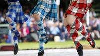 St Andrews Day Highland Dancers in Scotland