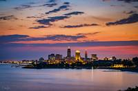 Cleveland Skyline Sunrise by Cody York_4498