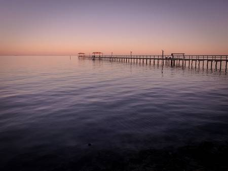 Fishing Pier, Fulton, Texas III