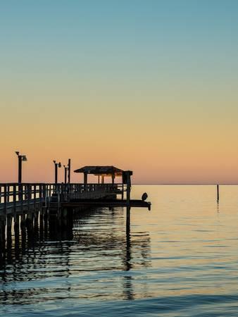 Fishing Pier, Fulton, Texas I