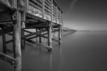 Gulf Fishing Pier, Fulton, Texas I