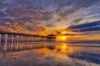 Sunrise ~ Cocoa Beach Pier III