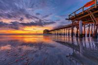 Dawn ~ Cocoa Beach Pier III