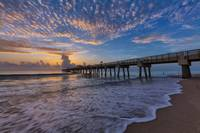 Dawn at Juno Beach Pier III