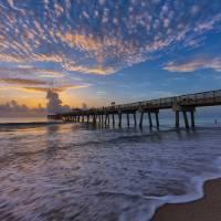 """Dawn at Juno Beach Pier III"" by cdomenig"