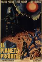 FORBIDDEN PLANET ITALIAN VERSION OF THE CLASSIC