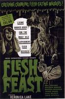 HALLOWEEN FLESH FEAST CLASSIC HORROR MOVIE POSTER