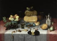 Still Life with Cheese, Floris Claesz. van Dijck,