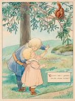 THE ELSA BESKOW, EKORRN SAT IN THE TREE, WOULD SCA