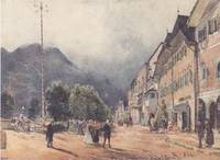 The Esplanade in Ischl, 1840 - Rudolf von Alt