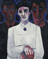 The Fisherman's Sister by Marsden Hartley
