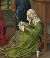 The Magdalen Reading, by Rogier van der Weyden