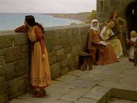 The Hostage - Sir Edmund Blair Leighton