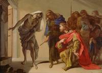 The Shade of Samuel Invoked by Saul by Bernardo Ca