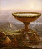 The Titan's Goblet,  Thomas Cole, 1833