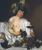The Young Bacchus by Michelangelo Merisi da Carava