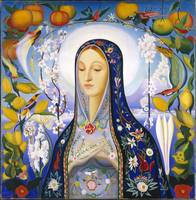 The Virgin,  Joseph Stella