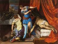 TINTORETTO, JACOPO ROBUSTI (WORKSHOP OF) Judith an