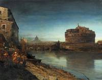 View of the Tiber and Castel Sant'Angelo (also kno