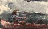 Winslow Homer - Adirondacks Guide