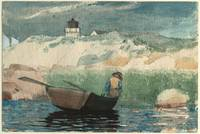 Winslow Homer American, 1836-1910 Boy in Boat, Glo