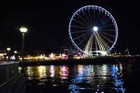 The Great Wheel At Night (b)