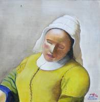 Milkmaid - after Vermeer