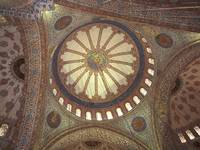 Blue Mosque Interior Istanbul, Turkey