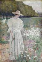 Among the Lilies by William J. Forsyth