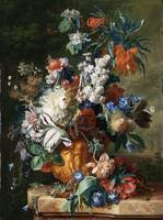 Bouquet of Flowers in an Urn Jan van Huysum (Holla