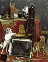 Chaos In The Studio by Charles Van Den Eycken