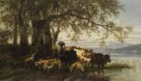 Christian Friedrich Mali - farmer and shepherd boy