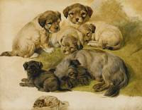 Circle of Sir Edwin Henry Landseer, R.A. STUDY OF
