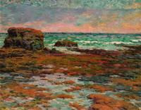 Claude Emile Schuffenecker , The Red Rocks (in Sai