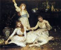 John Collier - May, Agatha, Veronica and Audrey, t