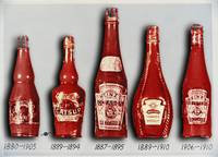 Heinz Tomato Ketchup Vintage, Evolution To 1910