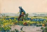 For to Be a Farmer's Boy by Winslow Homer, 1887.