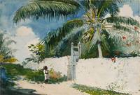 A Garden in Nassau by Winslow Homer, 1885