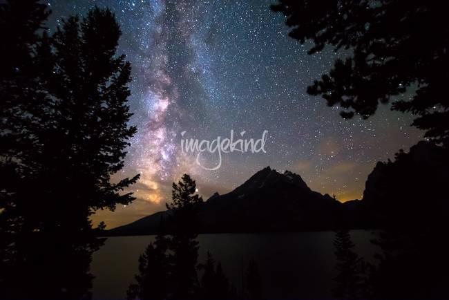 Teton Galaxy Night