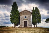 Small Chapel in the Tuscan Countryside