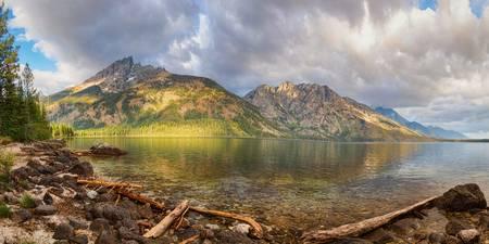 Jenny Lake Panorama View