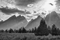 Teton County In Black and White