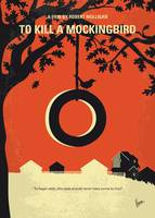 No844 My To Kill a Mockingbird minimal movie poste