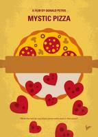No846 My Mystic Pizza minimal movie poster