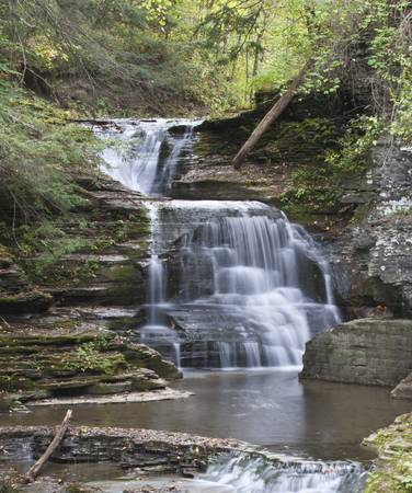 Mill Waterfall Primary Low Flow