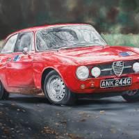"""Alfa Romeo Historic"" by iconicarts"