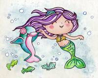 Dancing Little Mermaid